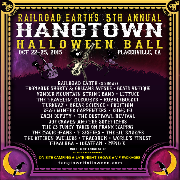 Tracorum at 2015 Hangtown Halloween Ball
