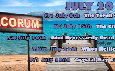 Summer Shows July 2016/ Torch Club/ Chapel SF and much more…