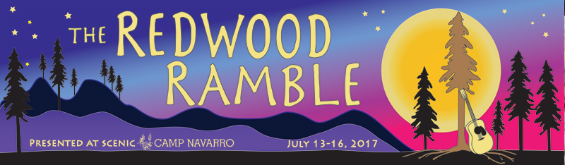 July 13-16th Redwood Ramble/ Torch Club/ Sweetwater Music Hall